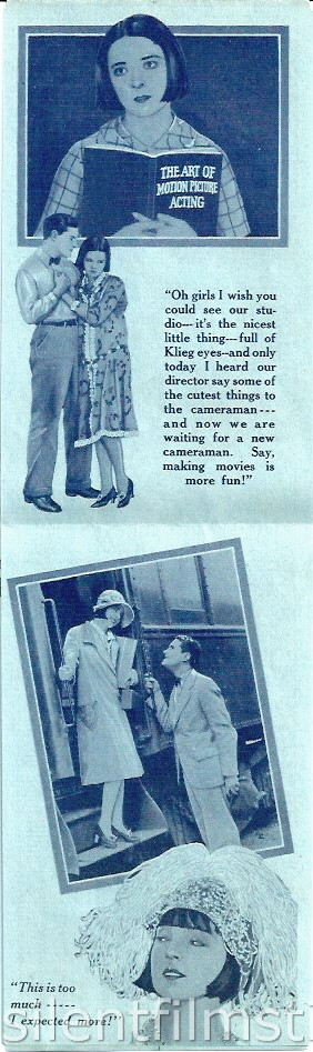 Advertising Herald for Colleen Moore and Lloyd Hughes in ELLA CINDERS (1926)