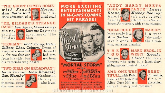 Metro-Goldwyn-Mayer's Screen Forecast
