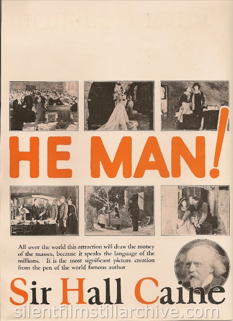 Trade ad for NAME THE MAN (1924)