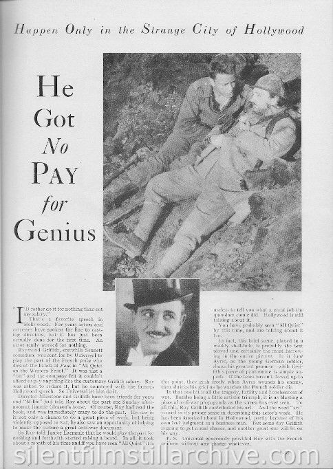 Photoplay Magazine, July 1930, page 33