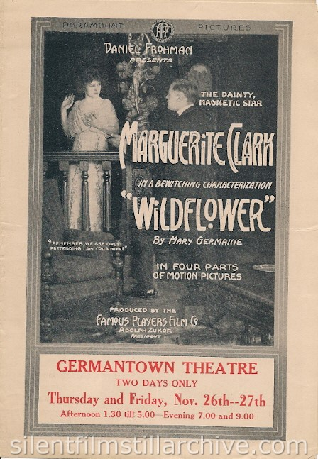 Marguerite Clark in WILDFLOWER (1919)