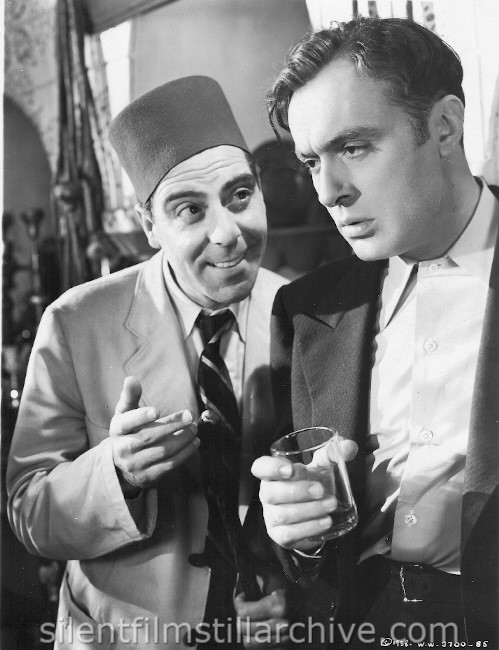 Joseph Calleia and Charles Boyer in ALGIERS (1938)