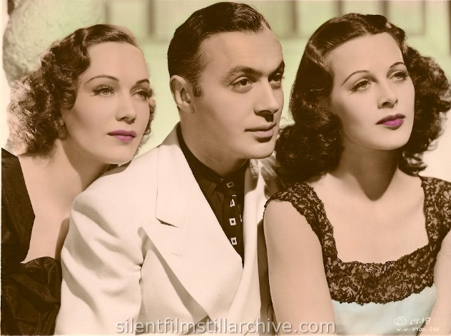 Sigrid Gurie, Charles Boyer and Hedy Lamarr in ALGIERS (1938)