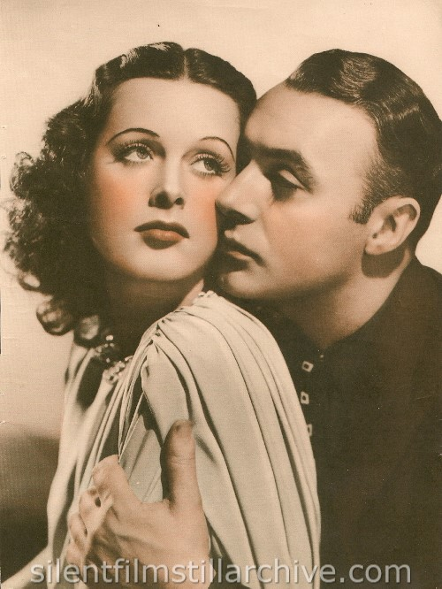 Hedy Lamarr and Charles Boyer in ALGIERS (1938)