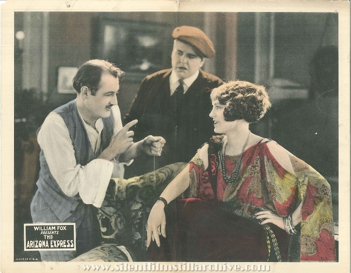 Francis MacDonald, Frank Beal, and Pauline Starke in THE ARIZONA EXPRESS (1924)