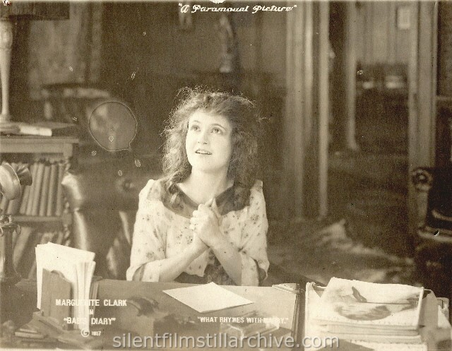 Marguerite Clark in BAB's DIARY (1917)