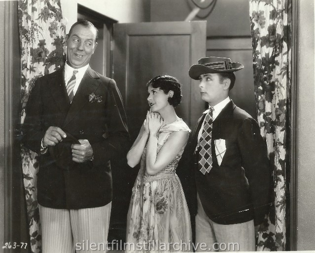 Karl Dane, Louise Lorraine and George K. Arthur in BABY MINE (1928).