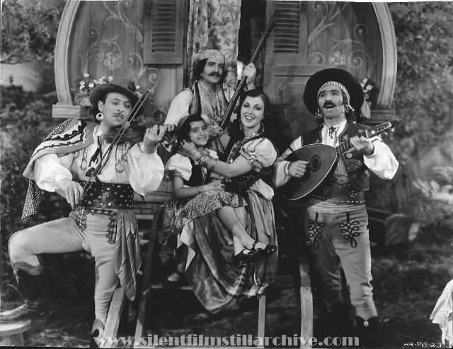 Extra players from THE BOHEMIAN GIRL (1936).