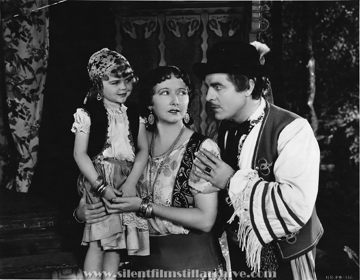 Darla Hood, Mae Busch and Antonio Moreno in THE BOHEMIAN GIRL (1936).