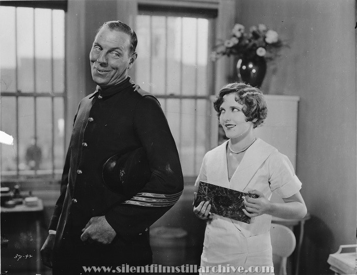 Karl Dane and Jean Arthur in BROTHERLY LOVE (1928)