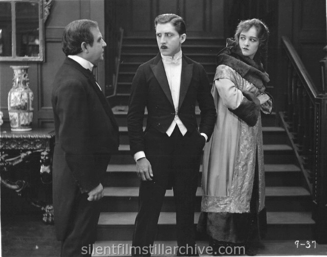 Charles Clary, Will Scott, and Gladys Brockwell in CALL OF THE SOUL (1919).