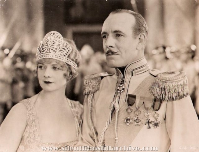Alice Terry and Lewis Stone in CONFESSIONS OF A QUEEN (1924)