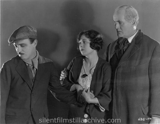 Raymond Griffith, David Torrence and Jaqueline Logan in THE DAWN OF A TOMORROW (1924)
