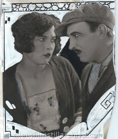Raymond Griffith and Jaqueline Logan in THE DAWN OF A TOMORROW (1924)