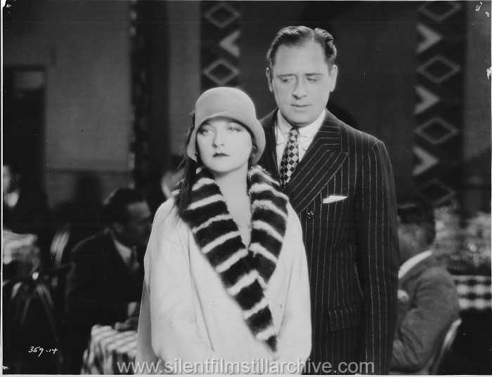 Sam Hardy and Eleanor Boardman in DIAMOND HANDCUFFS (1928)