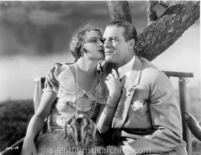 Eleanor Boardman and Lawrence Gray in DIAMOND HANDCUFFS (1928)
