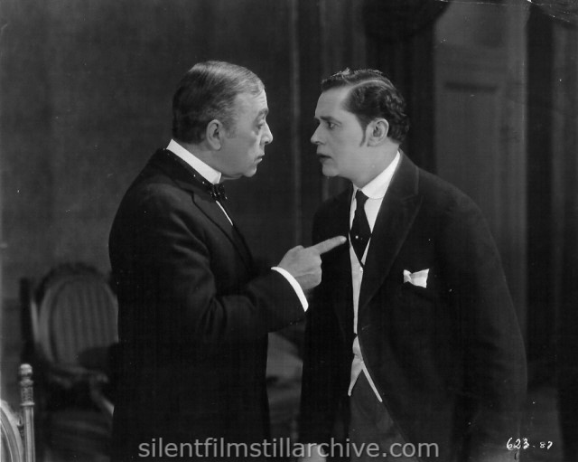 Robert Edeson and Theodore Kosloff in DON'T CALL IT LOVE (1923)