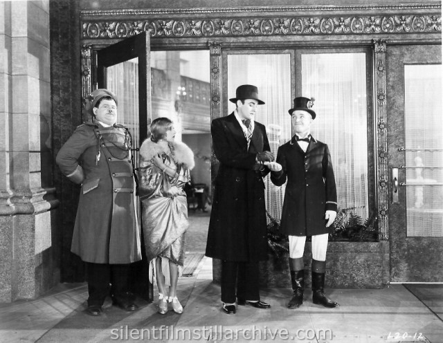 Stan Laurel and Oliver Hardy in DOUBLE WHOOPEE  (1929)