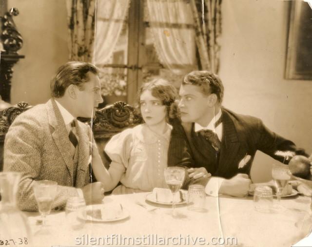 Ralph Emerson, Lillian Gish and Ralph Forbes in THE ENEMY (1927)