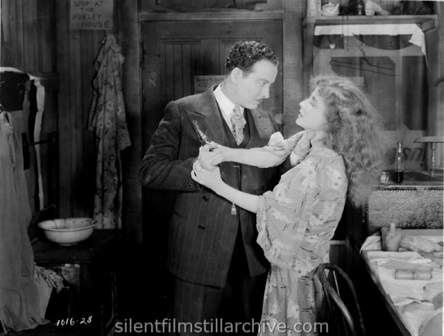 Philo McCullough and Betty Bronson in EVERYBODY'S ACTING (1926)