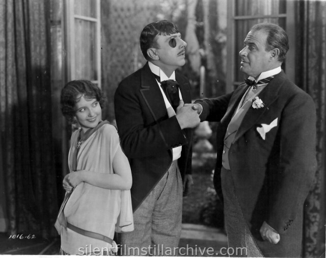 Betty Bronson, Stuart Holmes and Ford Sterling in EVERYBODY'S ACTING (1926)