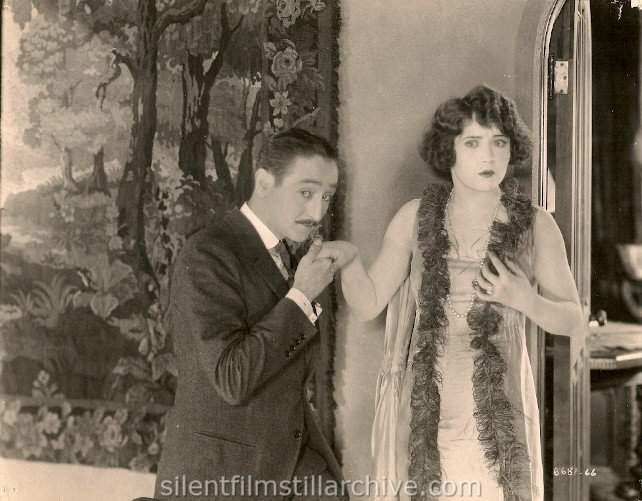 Adolphe Menjou and Betty Compson in THE FAST SET (1924)