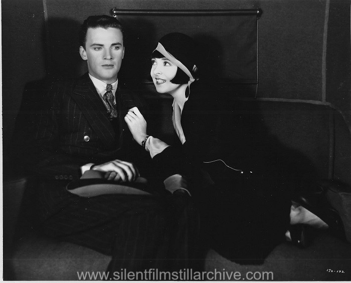 Raymond Hackett and Colleen Moore in FOOTLIGHTS AND FOOLS (1929)