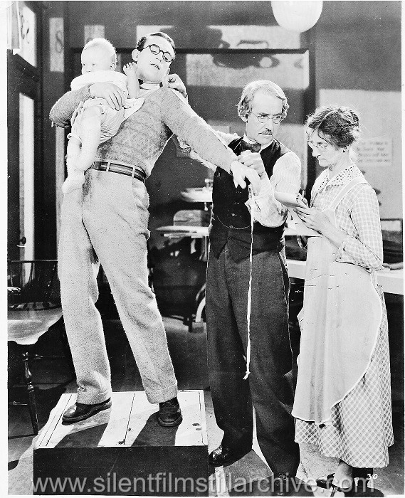 Harold Lloyd and Joseph Harrington in THE FRESHMAN (1925)