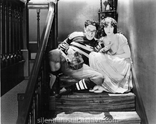 Harold Lloyd and Jobyna Ralston in THE FRESHMAN (1925)