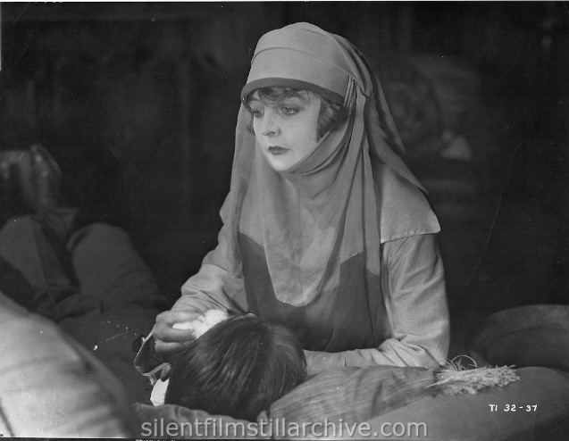 Enid Bennett in FUSS AND FEATHERS (1918)