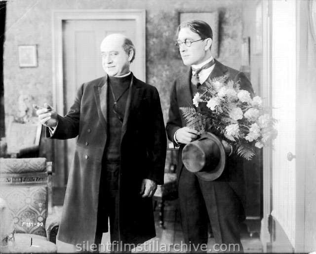 William J. Butler and Owen Moore in A GIRL LIKE THAT (1917)
