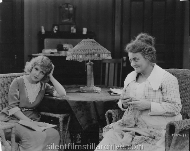 Marguerite Clark and Aggie Herring in A GIRL NAMED MARY (1919)