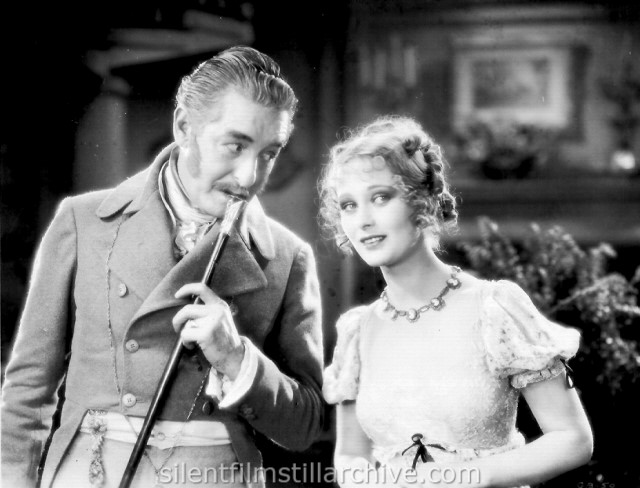 Marc McDermott and Dolores Costello in GLORIOUS BETSY (1928)