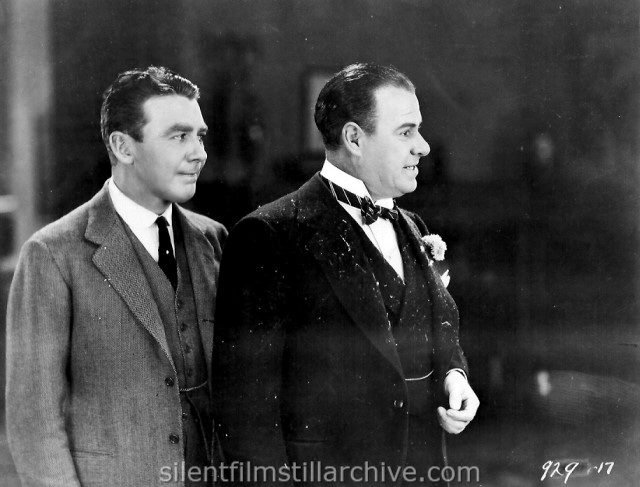 Tom Moore and Ford Sterling in GOOD AND NAUGHTY (1926)
