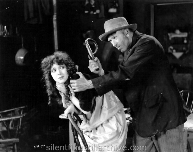 Madge Bellamy and Tully Marshall in HAIL THE WOMAN (1921)