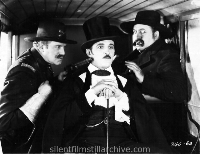 Montague Love, Raymond Griffith, and Mack Swain in HANDS UP! (1926)