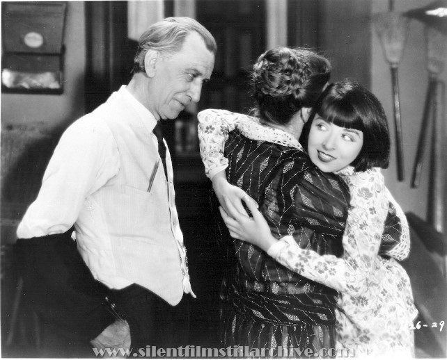 Charles Sellon and Colleen Moore in HAPPINESS AHEAD (1928)