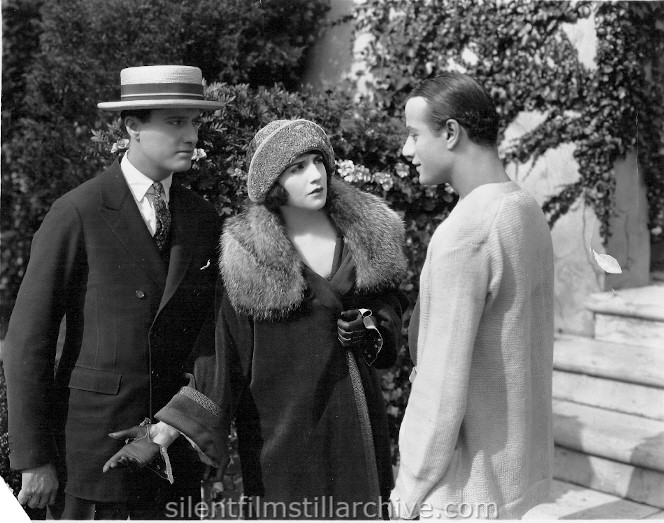 James Rennie, Bebe Daniels, and John Davidson in HIS CHILDREN'S CHILDREN (1923)