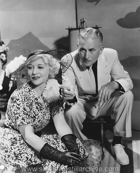 Betty Compson and John Halliday in HOLLYWOOD BOULEVARD (1936).