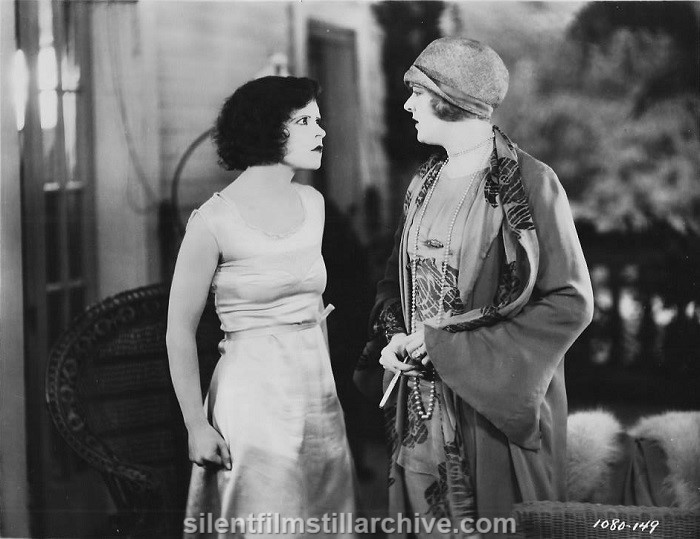 HULA (1927) with Clara Bow and Miss Dupont