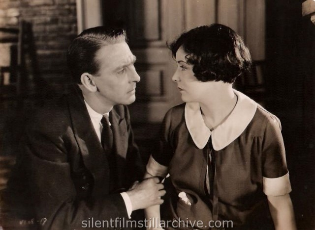 Percy Marmont and Virginia Valli in K - THE UNKNOWN (1924)