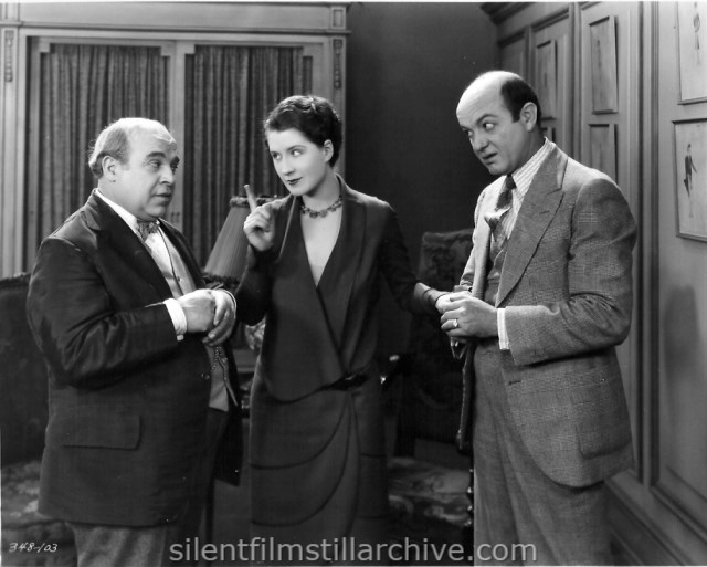 George Sidney, Norma Shearer and Tenen Holtz in THE LATEST FROM PARIS (1928)