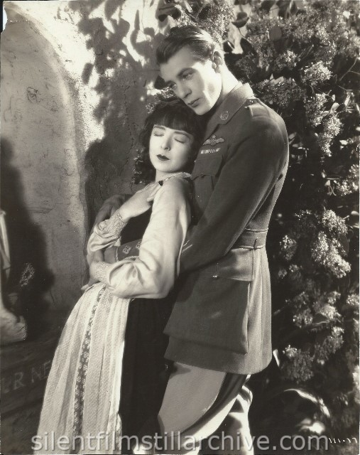 Colleen Moore and Gary Cooper in LILAC TIME (1928)