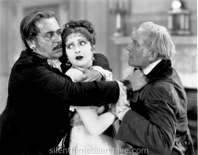 Noah Beery, Billie Dove and Emile Chautard in THE LOVE MART (1927)