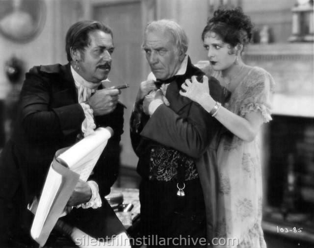 Noah Beery, Emile Chautard and Billie Dove in THE LOVE MART (1927)