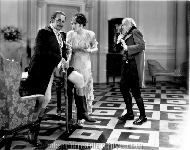Noah Beery, Billie Dove, and Emile Chautard in THE LOVE MART (1927)