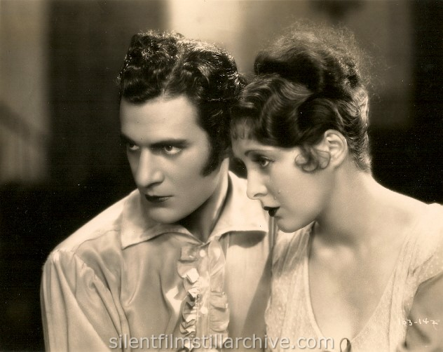 Gilbert Roland and Billie Dove in THE LOVE MART (1927)