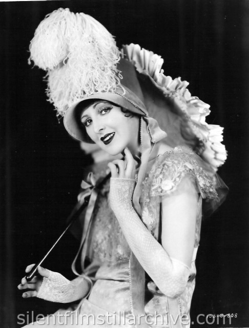 Billie Dove in costume for THE LOVE MART (1927)