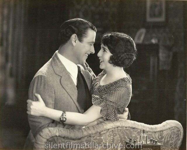 Edmund Burns and Bebe Daniels in THE MANICURE GIRL (1925).