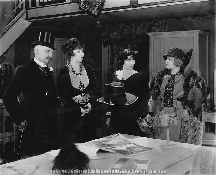 Frank Losse, Josephine Whittell, Alice Brady, and Gladys Valerie in MARIE LTD. (1919)